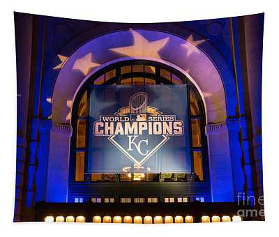 World Series Champs Tapestry
