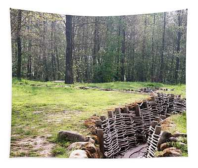 World War One Trenches Tapestry