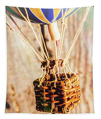 Woven Air Craft Tapestry