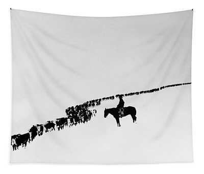 Wyoming: Cattle, C1920 Tapestry