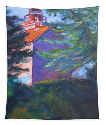 Yaquina Bay Lighthouse  Tapestry