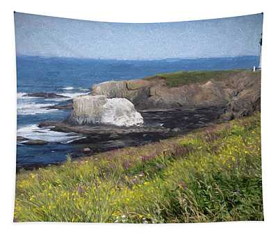 Yaquina Head Outstanding Natural Area Tapestry
