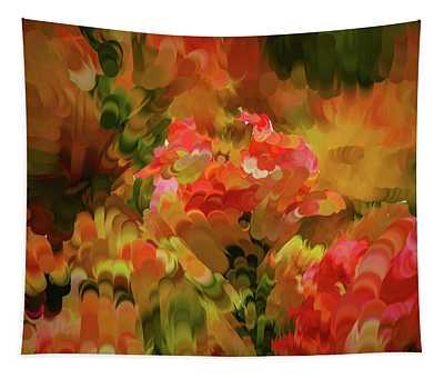 Yellow And Orange #h6 Tapestry