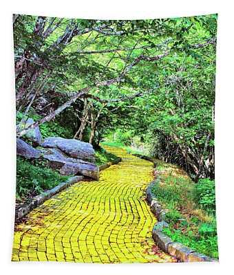 Yellow Brick Road Tapestry