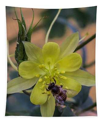 Yellow Flower 5 Tapestry