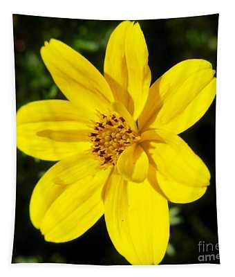 Yellow Flower Tapestry