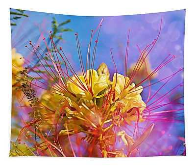Yellow Flowers Tapestry