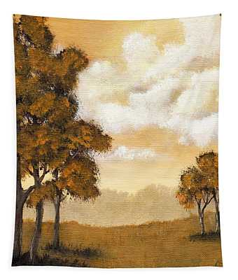 Yellow Mood Tapestry