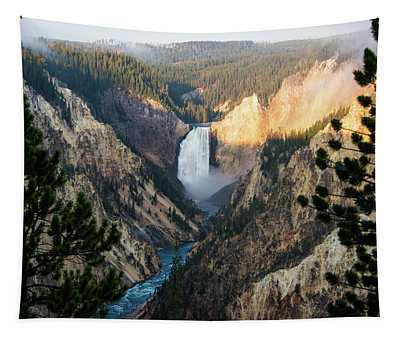 Yellowstone Falls Tapestry