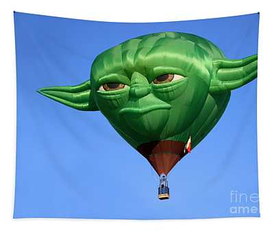 Yoda In The Sky Tapestry