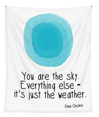 You Are The Sky Tapestry