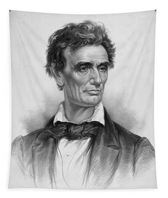 Young Abe Lincoln Tapestry