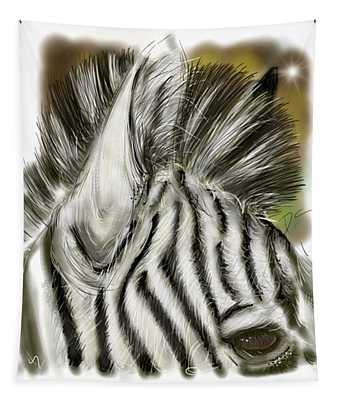 Zebra Digital Tapestry
