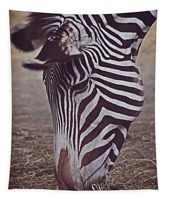 Zebra Head Tapestry