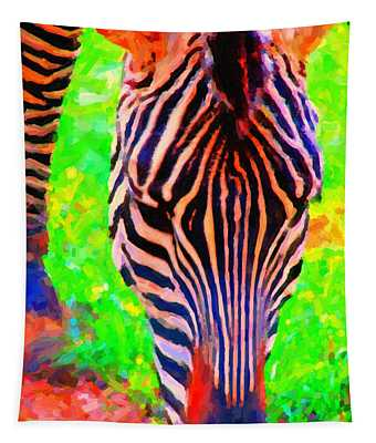Zebra . Photoart Tapestry