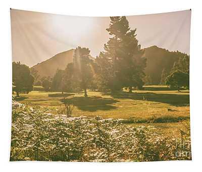 Zeehan Afternoon Meadows Tapestry
