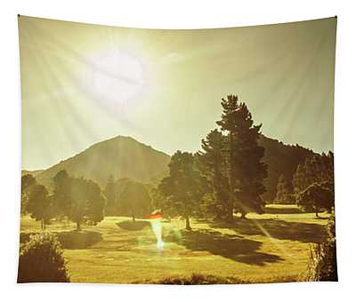 Zeehan Golf Course Tapestry