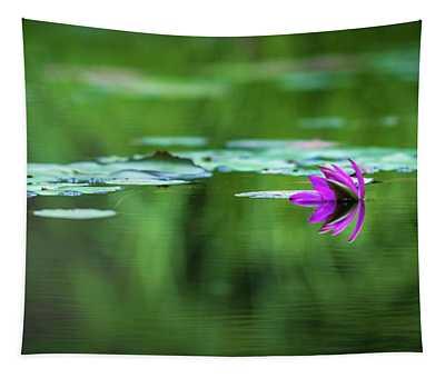 Zen Blossom Tapestry