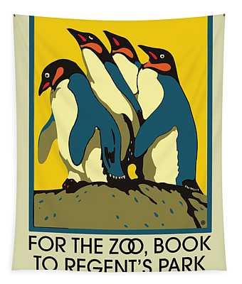 Zoo Underground Tapestry