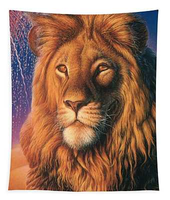 Zoofari Poster The Lion Tapestry