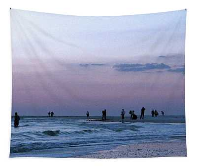 011 - Florida Silhouettes Tapestry