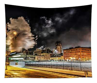 059 - Steam Locomotive Tapestry