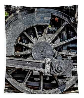 062 - Locomotive Wheel Tapestry