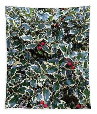 A Load Of Holly  Tapestry