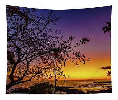 After Sunset Colors Tapestry