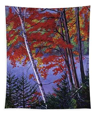 Algonquin Lake Fall Tapestry