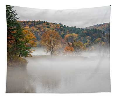Autumn Fog Tapestry