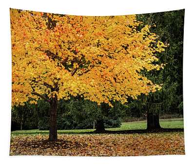 Autumn Gold Tapestry