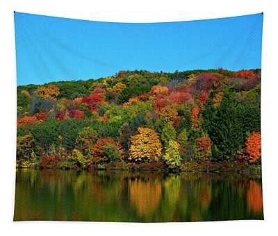 Autumn Reflection Tapestry