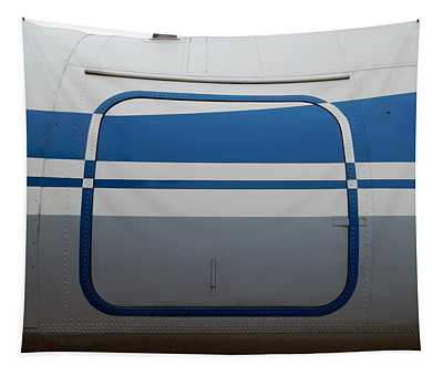 Aviation Textures Plating Of Aircraft And Helicopter Rivets Tapestry