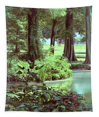 Bank Of Reelfoot Lake Tapestry