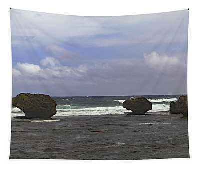 Bathsheba Beach Tapestry