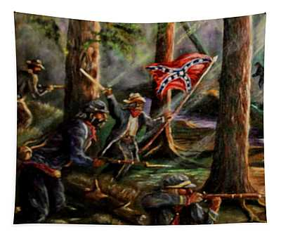 Battle Of Chancellorsville - The Wilderness Tapestry