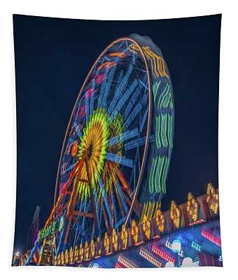 Big Wheel-2 Tapestry