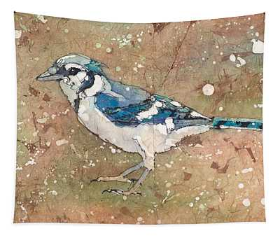 Blue Jay Tapestry