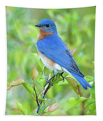 Bluebird Joy Tapestry