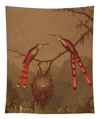 Brazilian Hummingbirds Tapestry