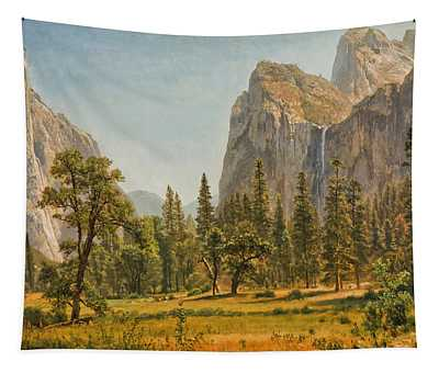 Bridal Veil Falls, Yosemite Valley Tapestry