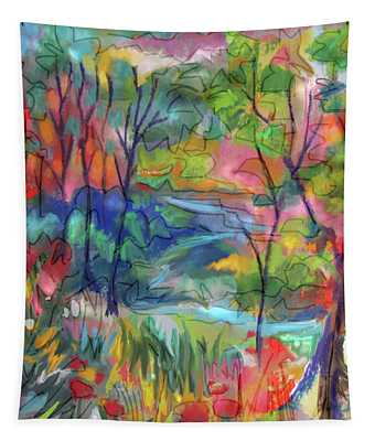 Bright Country Tapestry