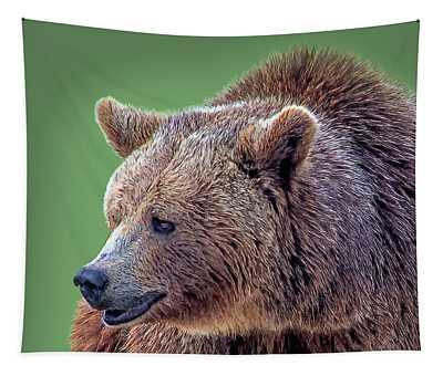 Brown Bear 5 Tapestry