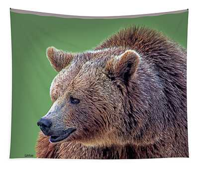 Brown Bear 5 Tapestry