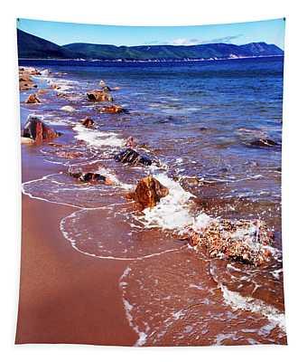 Cape Breton Island Aspy Bay Tapestry