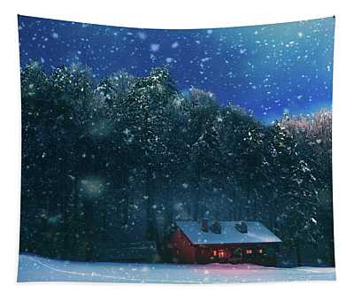 Chalet Tapestry