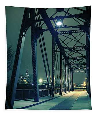Chicago Railroad Bridge Tapestry