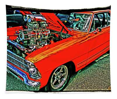 Classic Chevy Tapestry