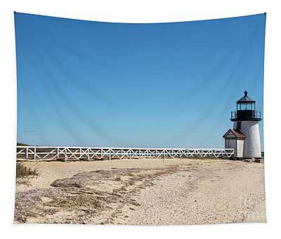 Coastal Brant Light House Tapestry